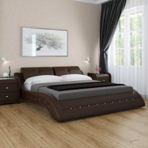 Мягкая кровать Аврора с подъемным механизмом. Доставка Бесплатно.